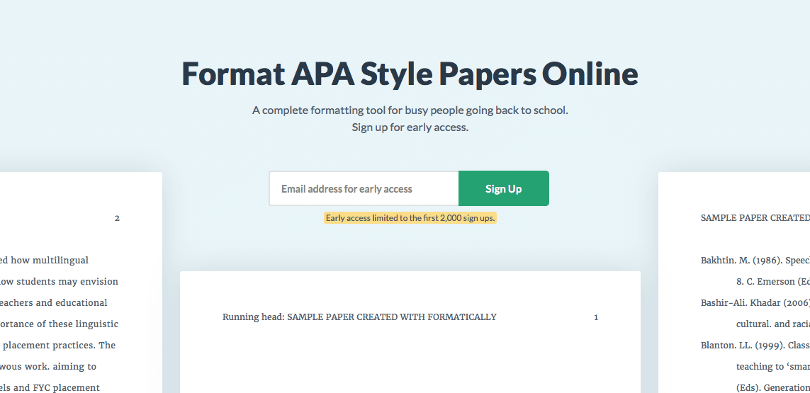 automatic apa format guides tools